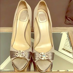 Christian Dior Satin Pumps